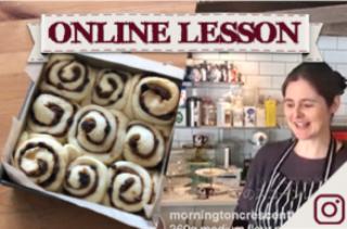 【オンラインレッスン】チェルシーバンズ Chelsea buns - Online Lesson