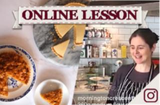 【オンラインレッスン】ジプシータルト&コーンフレークタルト school dinner puddings - Online Lesson