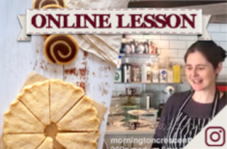 【オンラインレッスン】ショートブレッド2種類 Shortbread, two types - Online Lesson
