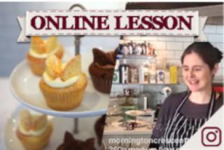 【オンラインレッスン】バタフライケーキ、チョコ&バニラ butterfly cakes, chocolate & vanilla - Online Lesson