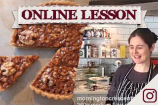 【オンラインレッスン】キャラメル&クルミのタルト caramel walnut tart - Online Lesson