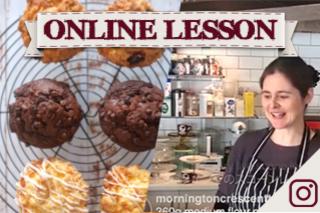 【オンラインレッスン】マフィン3種類 3 types of muffin - Online Lesson