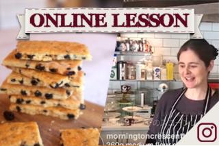 【オンラインレッスン】ガリバルディビスケット Garibaldi biscuit - Online Lesson