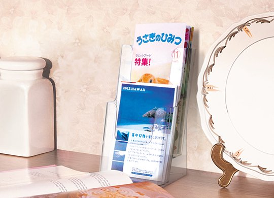 まとめ買い・カタログスタンド2段