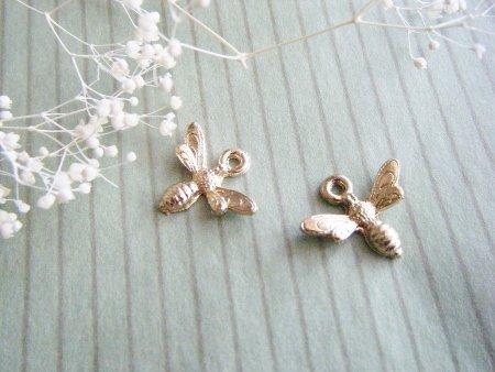 蜂のチャーム 2個セット