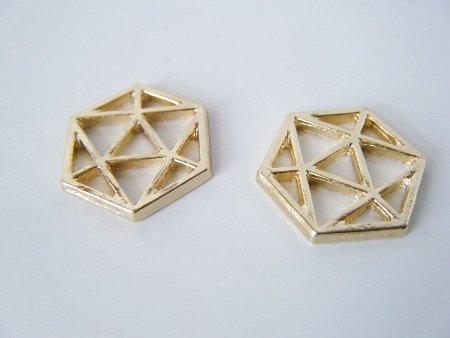 幾何学 空枠 六角形