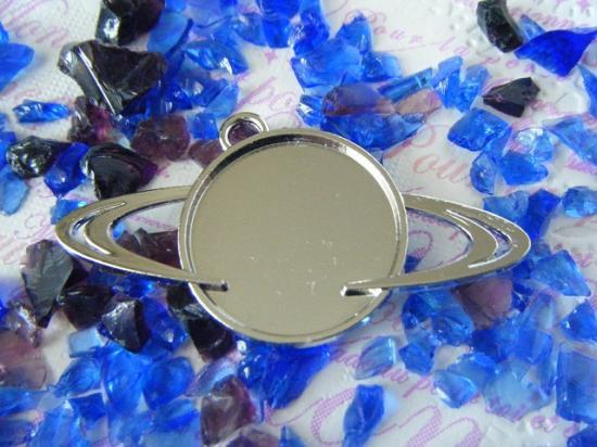 土星のミール皿 ニッケル