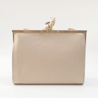 猫のピンクッションbag(S) アイボリー