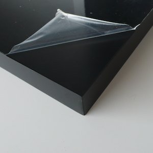 ポリランバーパネル(黒) 26x300x300 (1t)