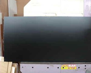 ポリ合板 黒(片面) 2.5x920x1830