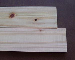 桧板(プレーナ仕上げ) 10x72x1980(1本)