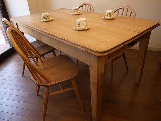 アンティークパイン W153テーブル