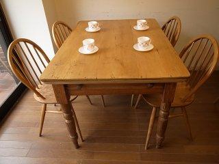 アンティークパイン W119テーブル