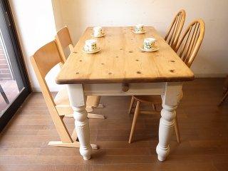 アンティークパイン W132テーブル