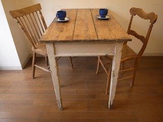 アンティークパイン W106小ぶりのテーブル