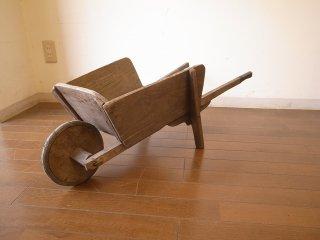 アンティーク 小さなカート(一輪車)