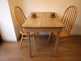 アンティークパイン W96小さなテーブル