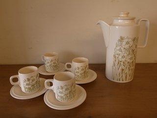 Hornsea (ホーンジー) fleur Coffee Set (C/S&Pot)