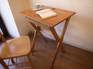 折り畳みスクールデスク
