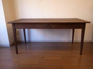 アンティーク 細脚のW158フレンチテーブル