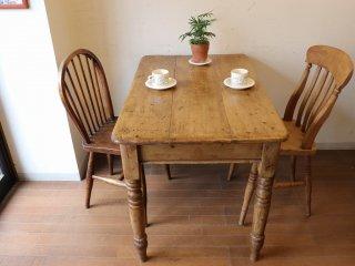 アンティークパイン 小ぶりのテーブル