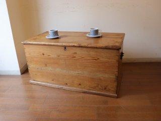 アンティークパイン W93ブランケットボックス