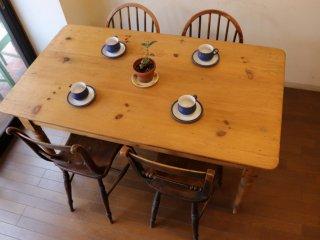 アンティークパイン W145テーブル
