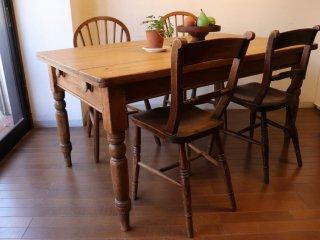 アンティークパイン W150テーブル