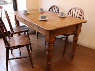 アンティークパイン W152テーブル