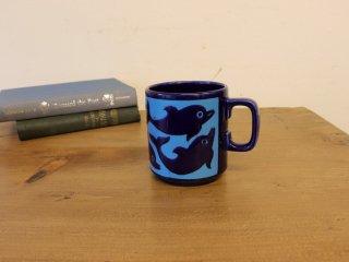 ホーンジー(Hornsea ) マグカップ(ドルフィン ブルー)