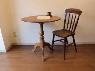 小さなラウンドテーブル