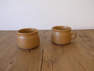 デンビー canterbury シュガーカップ/ミルクカップ