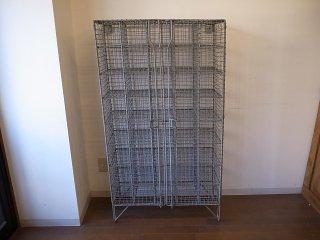 アンティーク アイアンゲージ シェルフ(40box)