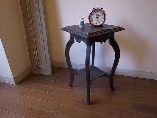 ビンテージ ペイント 小さなサイドテーブル