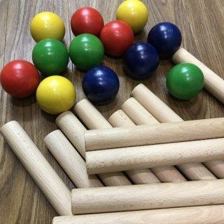 バランス棒+バランスボール