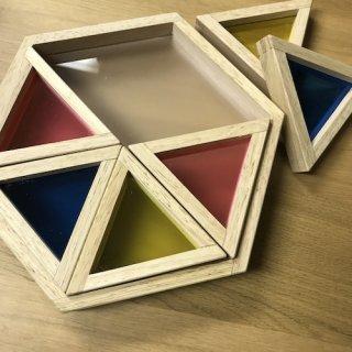 アクリル三角つみき