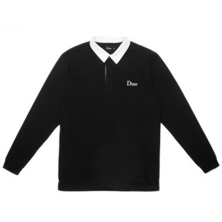<img class='new_mark_img1' src='//img.shop-pro.jp/img/new/icons1.gif' style='border:none;display:inline;margin:0px;padding:0px;width:auto;' />Dime<br>RUGBY SHIRT<br>BLACK