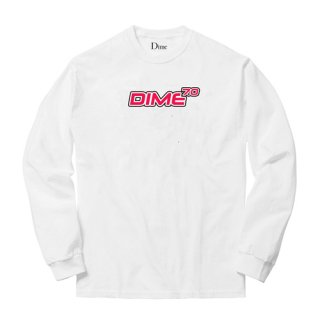 <img class='new_mark_img1' src='//img.shop-pro.jp/img/new/icons1.gif' style='border:none;display:inline;margin:0px;padding:0px;width:auto;' />Dime<br>7.0 LONG SLEEVE T-SHIRT<br>WHITE