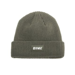 <img class='new_mark_img1' src='//img.shop-pro.jp/img/new/icons1.gif' style='border:none;display:inline;margin:0px;padding:0px;width:auto;' />Dime<br>HEAVY WEIGHT BEANIE<br>GREEN