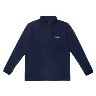 <img class='new_mark_img1' src='//img.shop-pro.jp/img/new/icons1.gif' style='border:none;display:inline;margin:0px;padding:0px;width:auto;' />Dime<br>Dime Long Sleeve Polo Shirt<br>NAVY