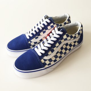 <img class='new_mark_img1' src='//img.shop-pro.jp/img/new/icons1.gif' style='border:none;display:inline;margin:0px;padding:0px;width:auto;' />VANS<br>OLD SKOOL CHECK<br>TRUE BLUE<br>ブルー