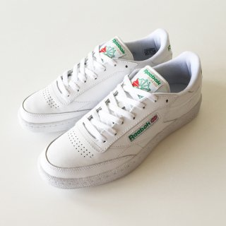 <img class='new_mark_img1' src='//img.shop-pro.jp/img/new/icons1.gif' style='border:none;display:inline;margin:0px;padding:0px;width:auto;' />REEBOK<br>CLUB C 85<br>WHITE×GREEN