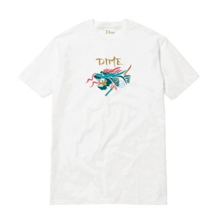 <img class='new_mark_img1' src='//img.shop-pro.jp/img/new/icons1.gif' style='border:none;display:inline;margin:0px;padding:0px;width:auto;' />Dime<br>DRAGON SLAYER T-SHIRT<br>WHITE