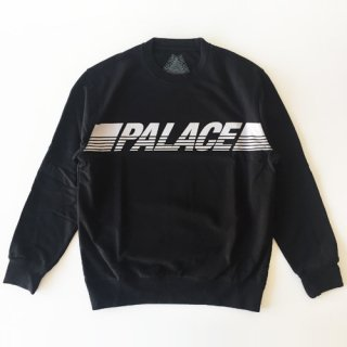 <img class='new_mark_img1' src='//img.shop-pro.jp/img/new/icons1.gif' style='border:none;display:inline;margin:0px;padding:0px;width:auto;' />Palace Skateboards<br>LINE CREW<br>クルーネックスウェット<br>BLACK