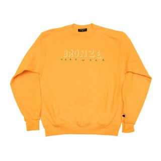 <img class='new_mark_img1' src='//img.shop-pro.jp/img/new/icons47.gif' style='border:none;display:inline;margin:0px;padding:0px;width:auto;' />Bronze 56K<br>HARDWEAR CREWNECK<br>GOLD