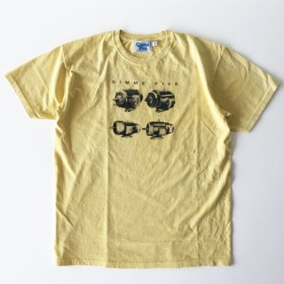 <img class='new_mark_img1' src='//img.shop-pro.jp/img/new/icons1.gif' style='border:none;display:inline;margin:0px;padding:0px;width:auto;' />GIMME FIVE<br>Heads T-SHIRT<br>YELLOW