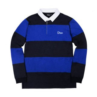 <img class='new_mark_img1' src='//img.shop-pro.jp/img/new/icons1.gif' style='border:none;display:inline;margin:0px;padding:0px;width:auto;' />Dime<br>STRIPED RUGBY SHIRT<br>NAVY&ROYAL