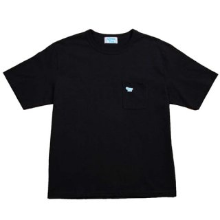<img class='new_mark_img1' src='https://img.shop-pro.jp/img/new/icons1.gif' style='border:none;display:inline;margin:0px;padding:0px;width:auto;' />GIMME FIVE<br>G5 POCKET TEE<br>BLACK