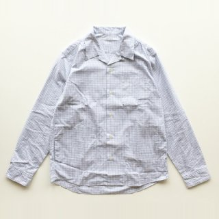 <img class='new_mark_img1' src='https://img.shop-pro.jp/img/new/icons1.gif' style='border:none;display:inline;margin:0px;padding:0px;width:auto;' />FUTURE PRIMITIVE<br>FP REVERE COLLAR SHIRT<br>(BLUE CHECK)<br>for EQUIPMENT