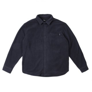 <img class='new_mark_img1' src='//img.shop-pro.jp/img/new/icons1.gif' style='border:none;display:inline;margin:0px;padding:0px;width:auto;' />Dime<br>FLEECE BUTTON-UP SHIRT<br>NAVY